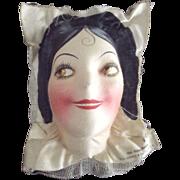 Art Deco Mask Face