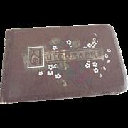 Victorian Autograph Book