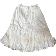 Victorian Petticoat With Lots of Lace