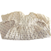 Dotted Swiss Doll Dress