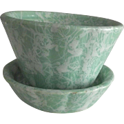 Shawnee Spatterware Planter