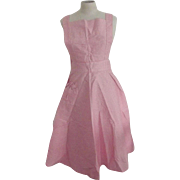 Pink Bib Apron