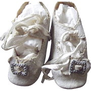 Small White Doll Shoes