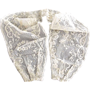 Victorian/Edwardian Net and Lace Waist Band