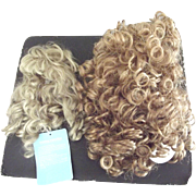 Two Synthetic  Mohair Wigs