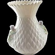Belleek Thistle Vase