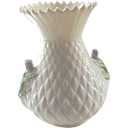 Belleek Thistle Vase