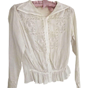 Edwardian Blouse With Embroidery