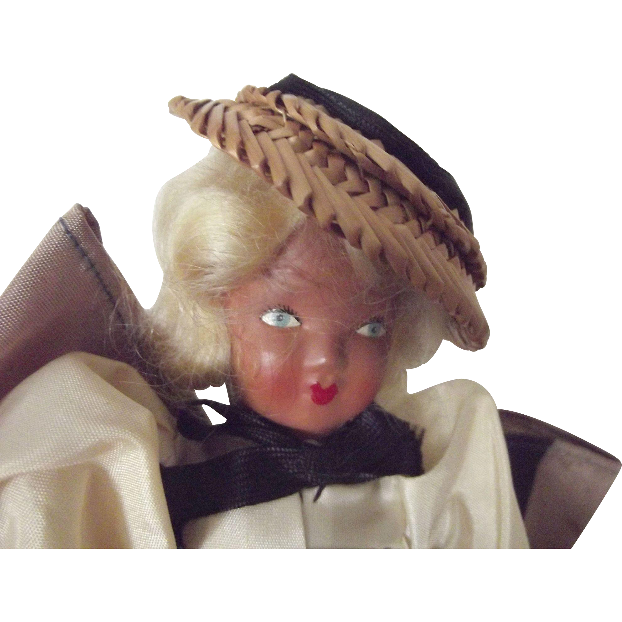 All Original Doll Made In Brussels With Original Tag