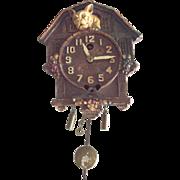 Lux Pendulum Clock With Bulldog Or Pug