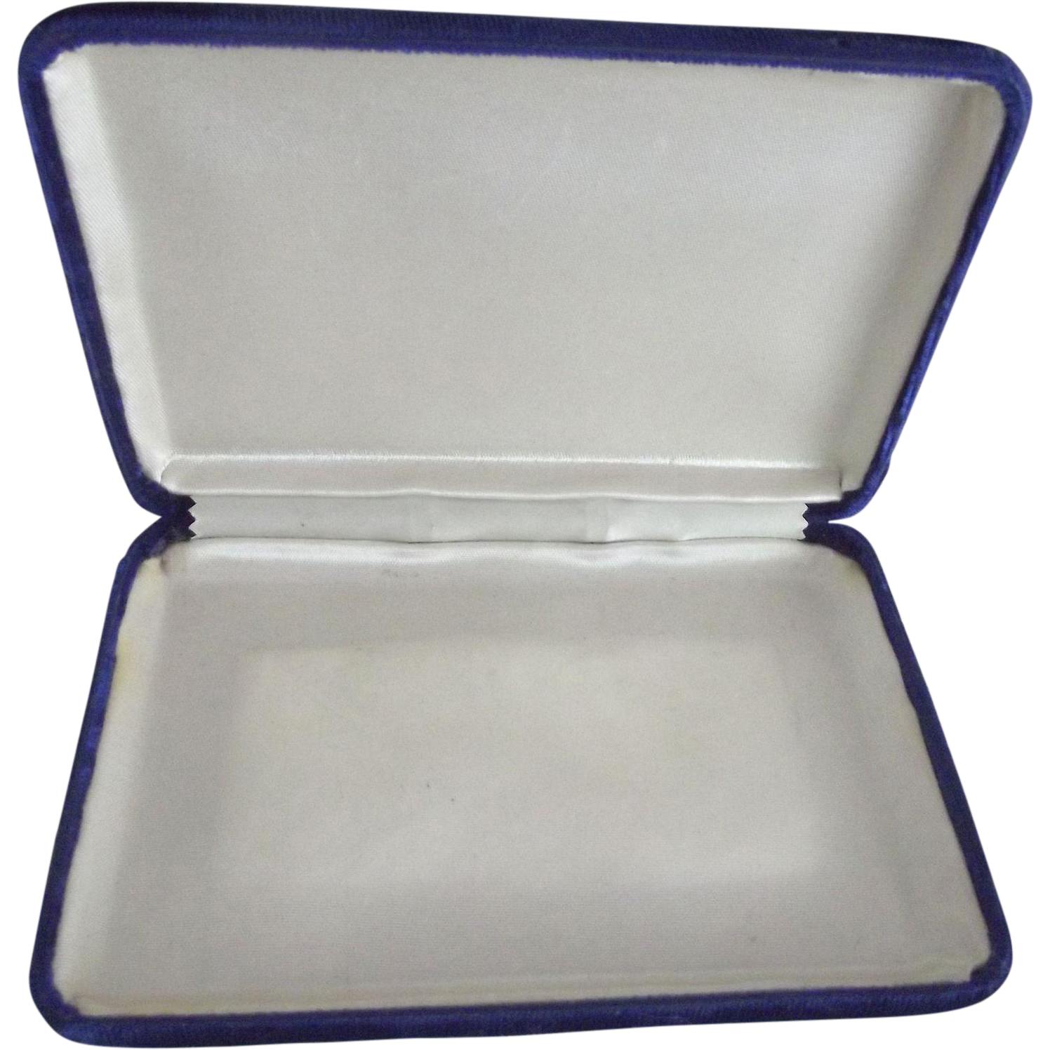 blue Velvet Jewelry Case