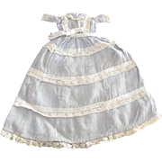 Small Blue Doll Dress with Lace