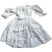 Lawn Dress With Raised Dots