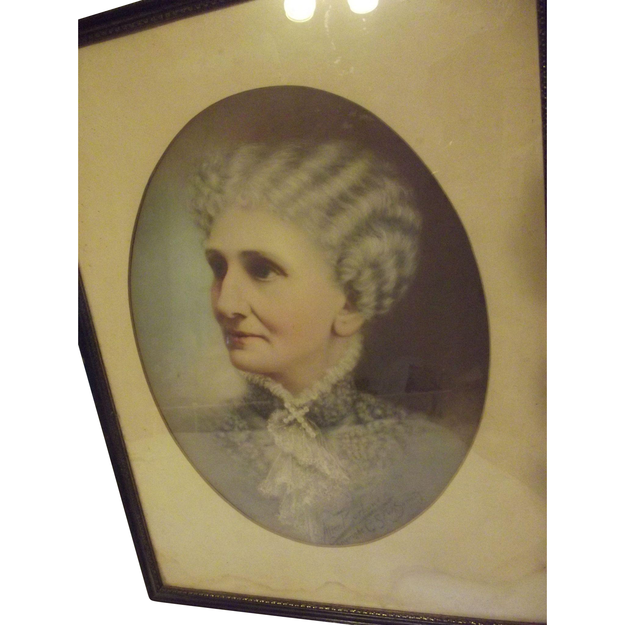 Mary Baker Eddy Print by Alice Barbour