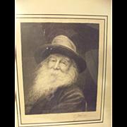 Walt Whitman by J. Johnson
