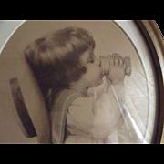 "Bessie Pease Gutmann Print ""Tasting"""