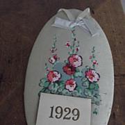 Silk 1906 Calendar Krueger Advertisement