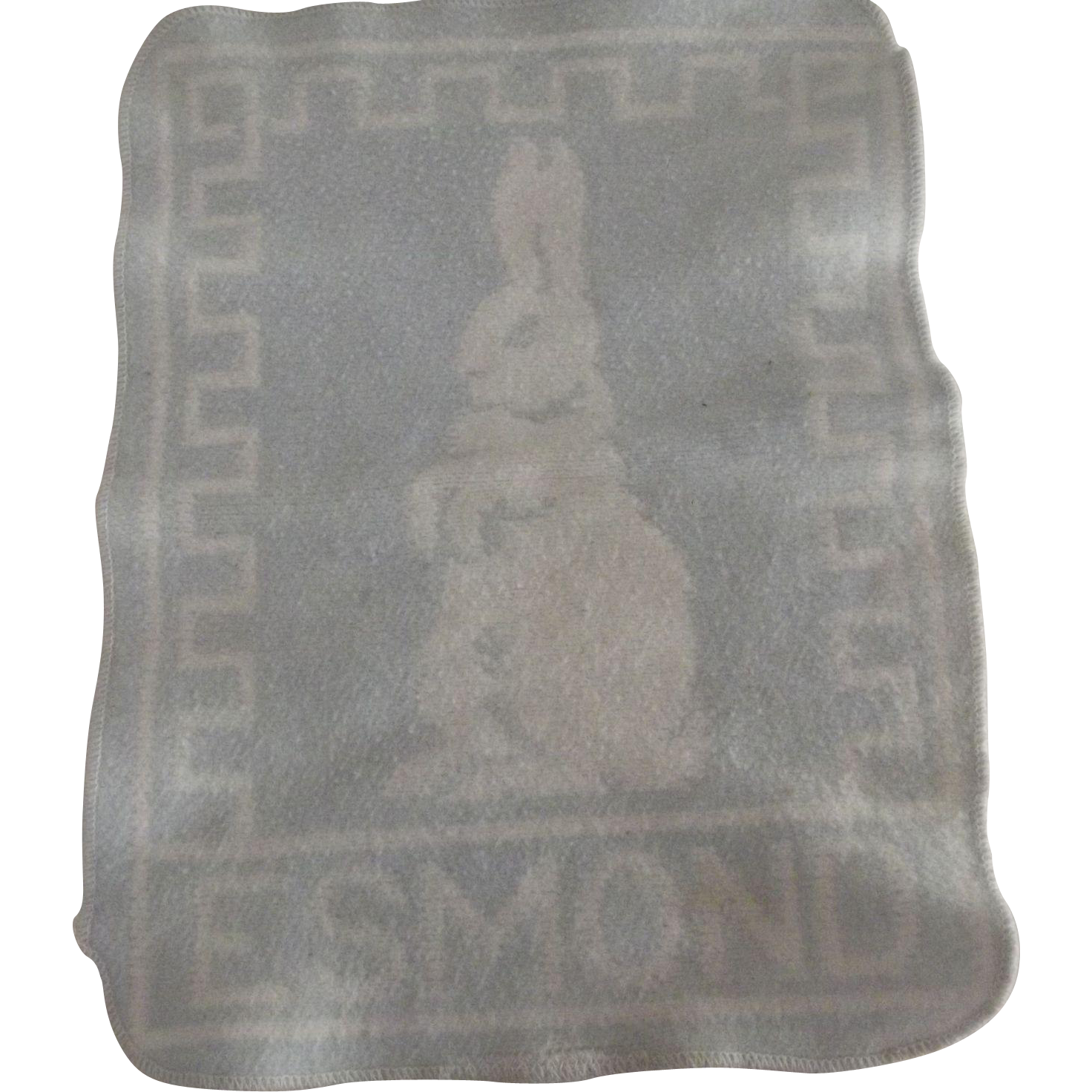 Blue Blanket With Bunny Esmond
