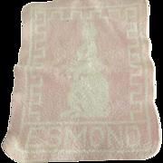 Pink Esmond Bunny Blanket