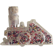 Vintage Plastic Toy Train Candy Container