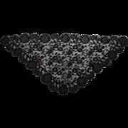 Black Lace Head Cover or Mantilla