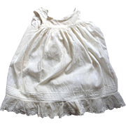 A Victorian/Edwardian Full Slip For Toddler or Large Doll