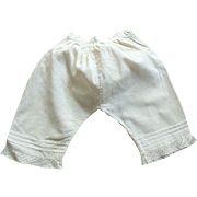 Victorian/Edwardian Pantaloons For A Large Doll