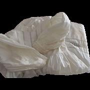 Victorian/Edwardian Child or Doll Dress, Tucks, Insertion and Eyelet