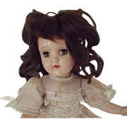 Dark Haired Toni Doll,Original Dress