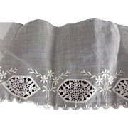 Organdy Eyelet Trim