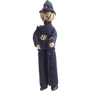 "British Bobby Doll With Metal Feet ""Willard"""
