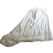 Victorian Petticoat With Train