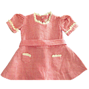Doll Dress with Tiny Pockets