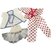 Doll Pajamas, Robe and Girdle