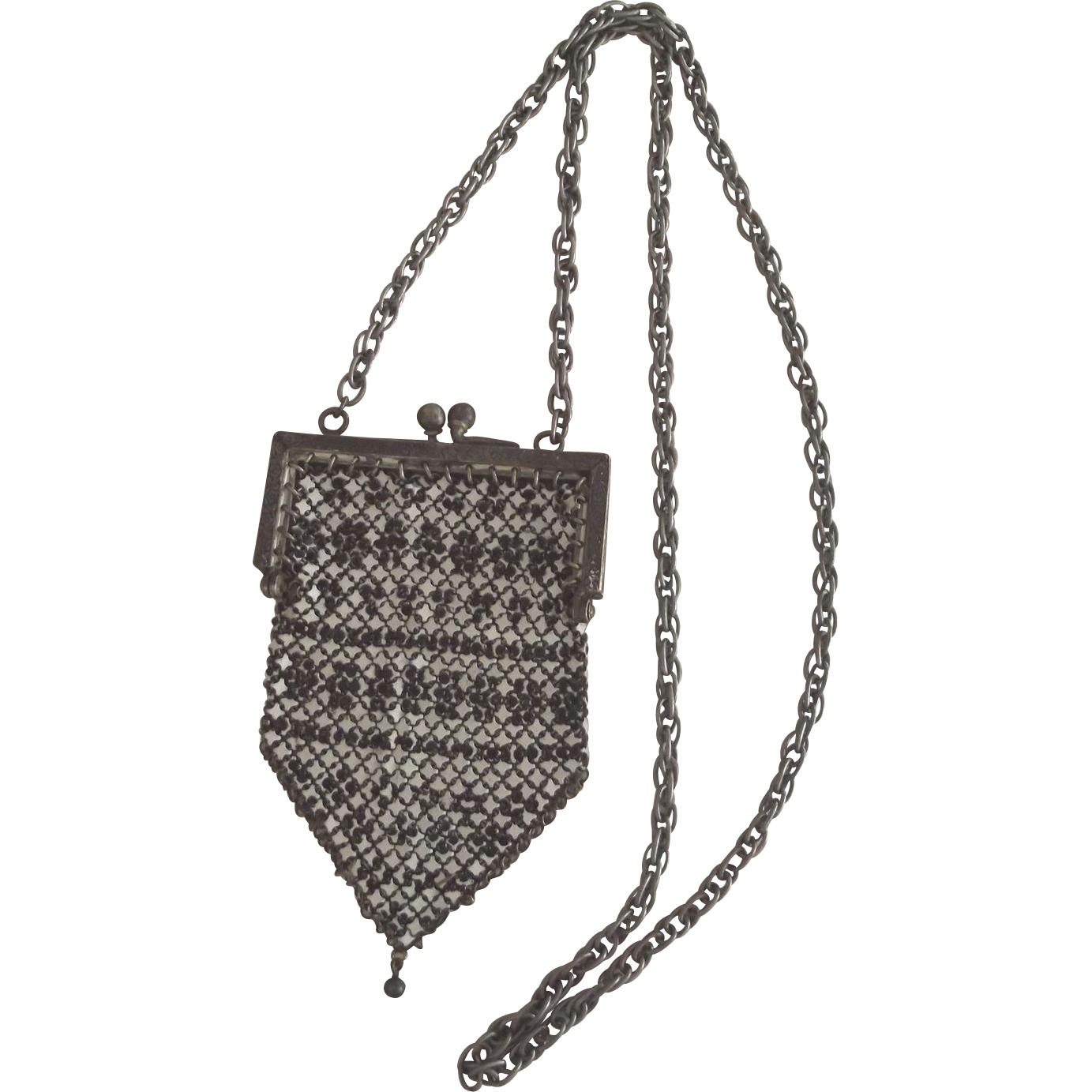 Art Deco Small Flapper Purse, Can Be Used For A doll Accessory