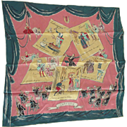 Lady's Scarf With Famous Operas