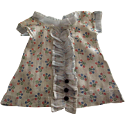 Doll Dress Lawn and Organdy 1940' or 50's