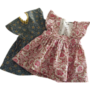 Two Cotton 1940's or 50's Dresses