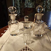 Lot of Early Perfume Bottles