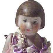 All Bisque Flapper Doll