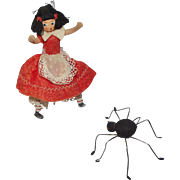 Baps Little Miss Muffet and the Spider