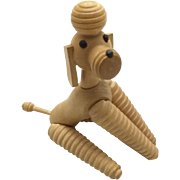 Wood Poodle,Fully Jointed