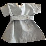 Blue Doll Dress With Little Pocket