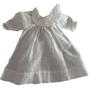 Doll Dress With Large Lace Trimmed Collar