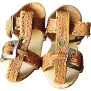 German Doll Sandals