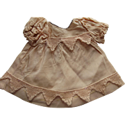 Peach/Pink Doll Dress With Lace