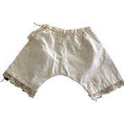 Lace Trimmed Pantaloons For Doll