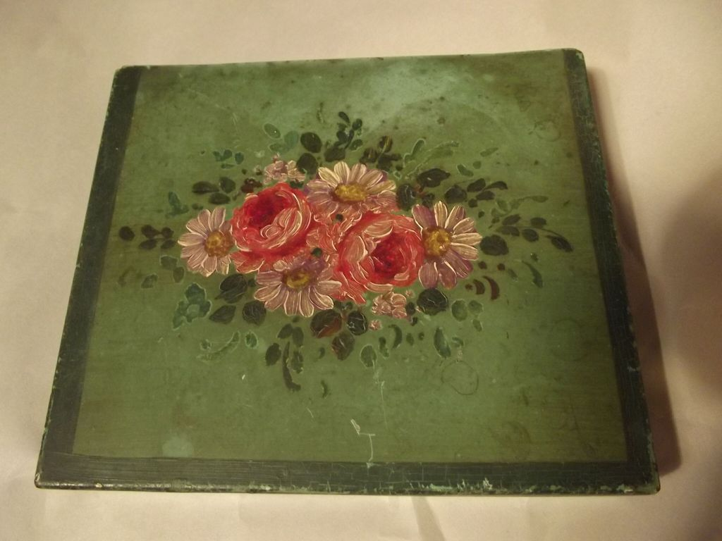Painted Tole Box