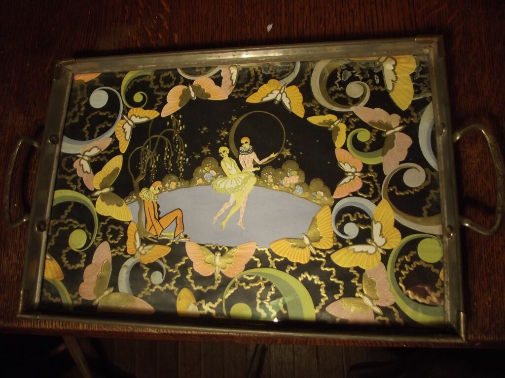 Old Art Deco Tray