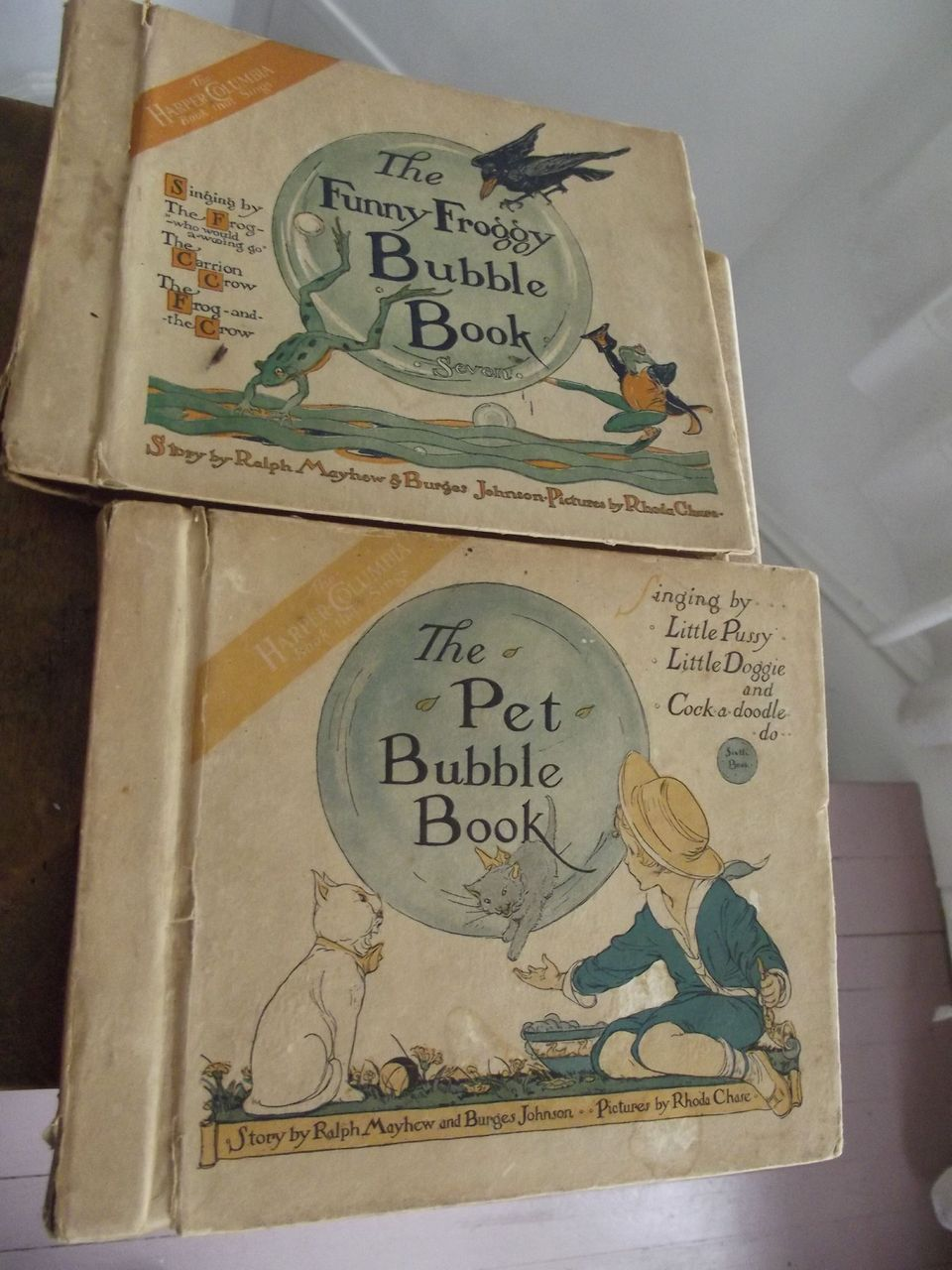 Two Bubble Books
